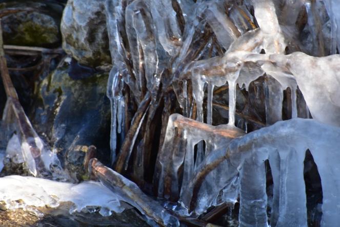 Ice at the lake